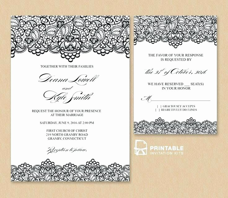 Wedding Invitation Email Template Lovely Wedding Invitation Card Editable with Hearts Background