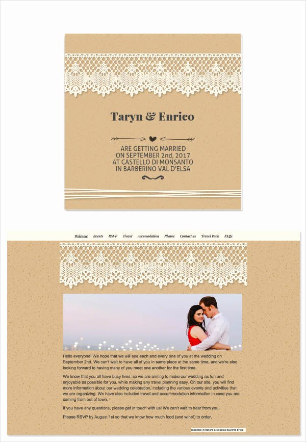 Wedding Invitation Email Template Luxury 8 Wedding E Mail Invitation Templates Psd Ai Word