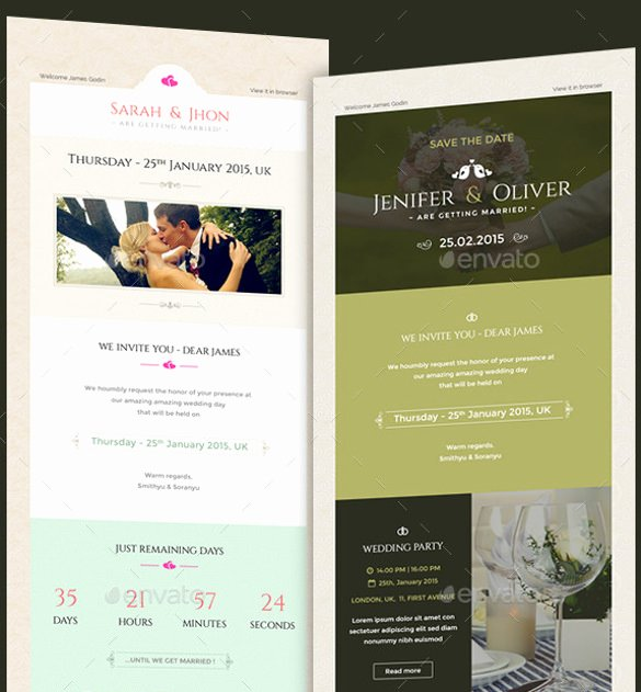 Wedding Invitation Email Template Unique 15 Email Invitation Template Free Sample Example