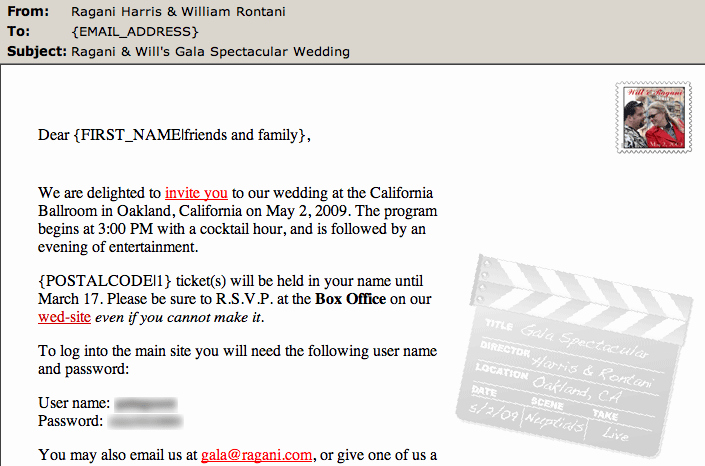 Wedding Invitation Email Template Unique How to Create Email Wedding Invitations that Save Money