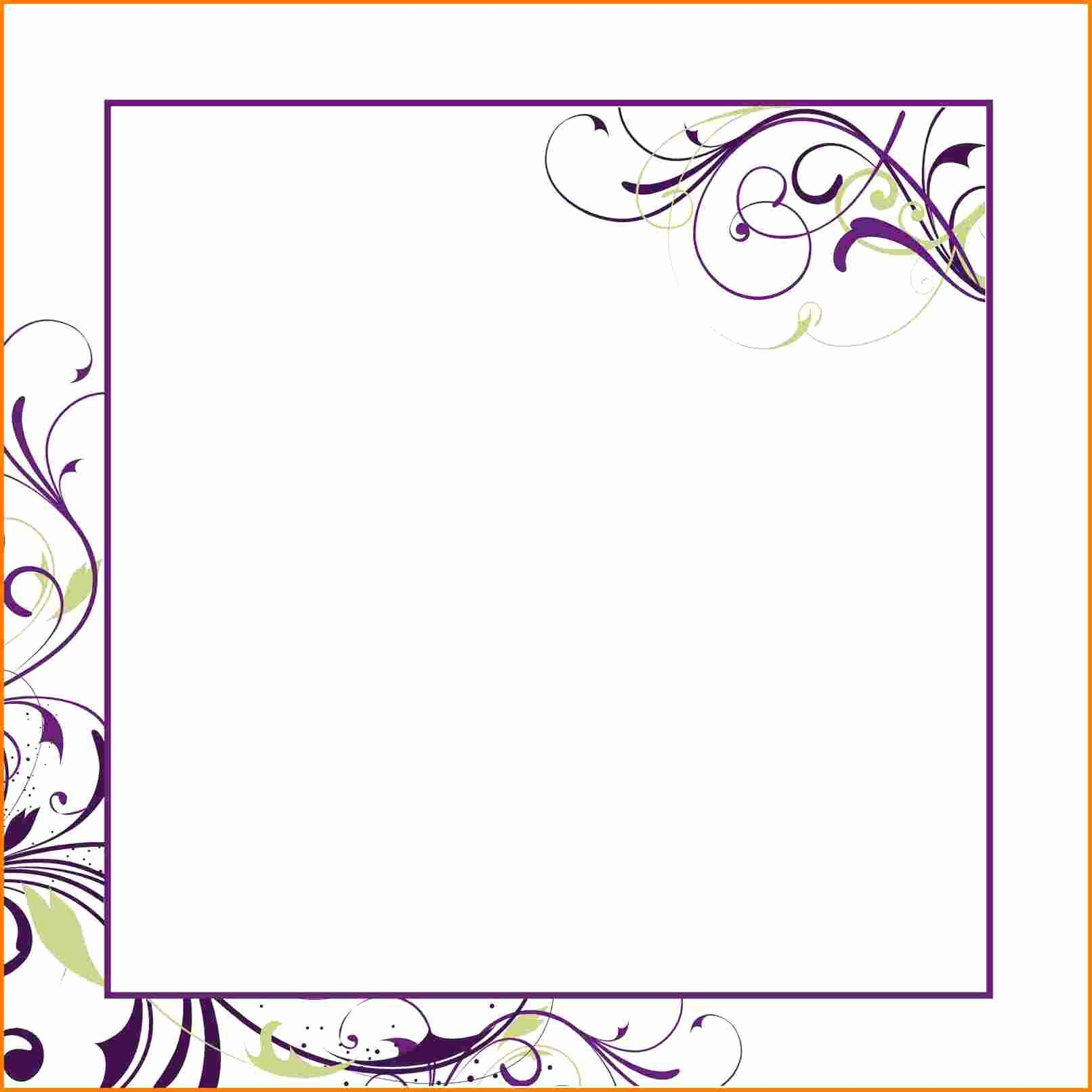 Wedding Invitation Template for Word Inspirational Blank Invitation Template for Word – orderecigsjuicefo