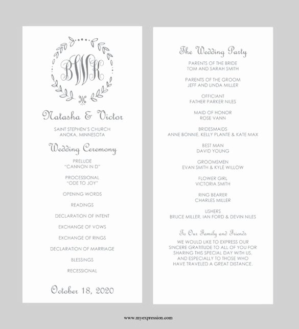 Wedding Invitation Template Microsoft Word Awesome 43 Wedding Templates Word