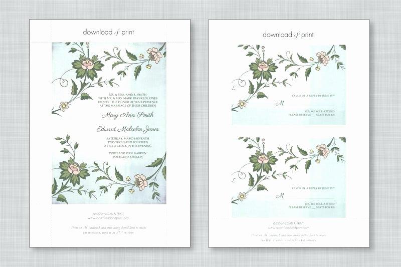 Wedding Invitation Template Microsoft Word Awesome Free Wedding Invitation Templates for Microsoft Word