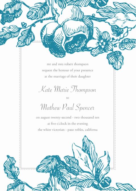 "Wedding Invitation Template Microsoft Word Awesome ""i Do"" Bud Weddings Free Invitation Downloads"