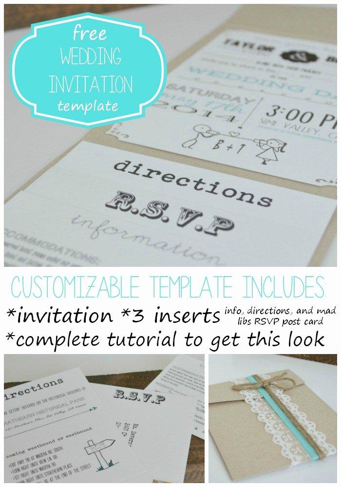 Wedding Invitation Template Microsoft Word Beautiful Free Wedding Invitation Templates for Word