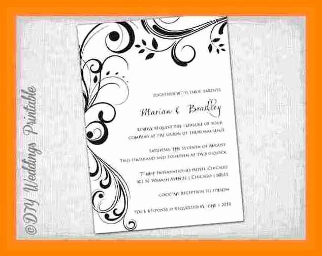 Wedding Invitation Template Microsoft Word Fresh 15 Blank Invitation Templates for Microsoft Word