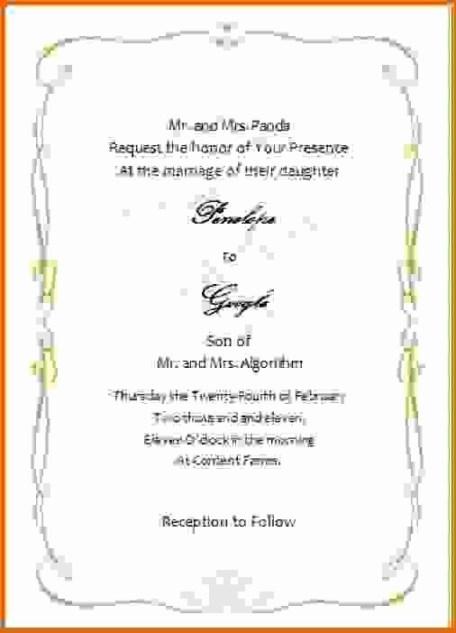 Wedding Invitation Template Microsoft Word Inspirational Microsoft Word Wedding Invitation Templatesreference