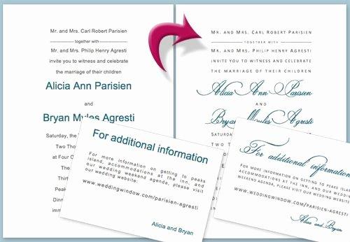 Wedding Invitation Template Microsoft Word New Diy Wedding Invitation Tutorial Using Microsoft Word