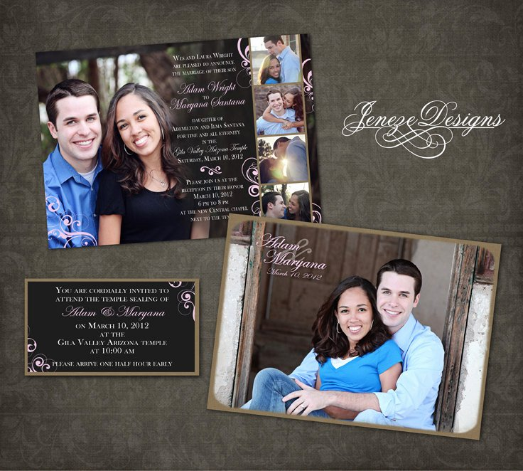 Wedding Invitation Template Photoshop Awesome Wedding Invitation Shop Template Graphers and