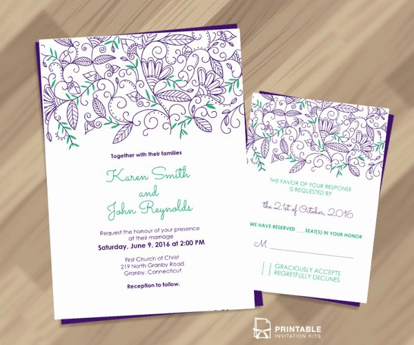 Wedding Invitation Template Photoshop Beautiful Free Photoshop Invitation Templates Eyerunforpob