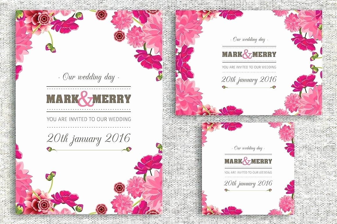 Wedding Invitation Template Photoshop Beautiful Wedding Invitations Template Shop