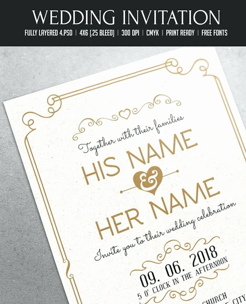 Wedding Invitation Template Photoshop Best Of Wedding Invitations Template Shop