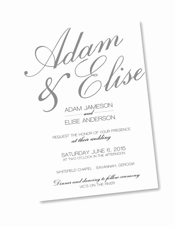 Wedding Invitation Template Photoshop Fresh Rustic Calligraphy Shop Template Wedding Invitation