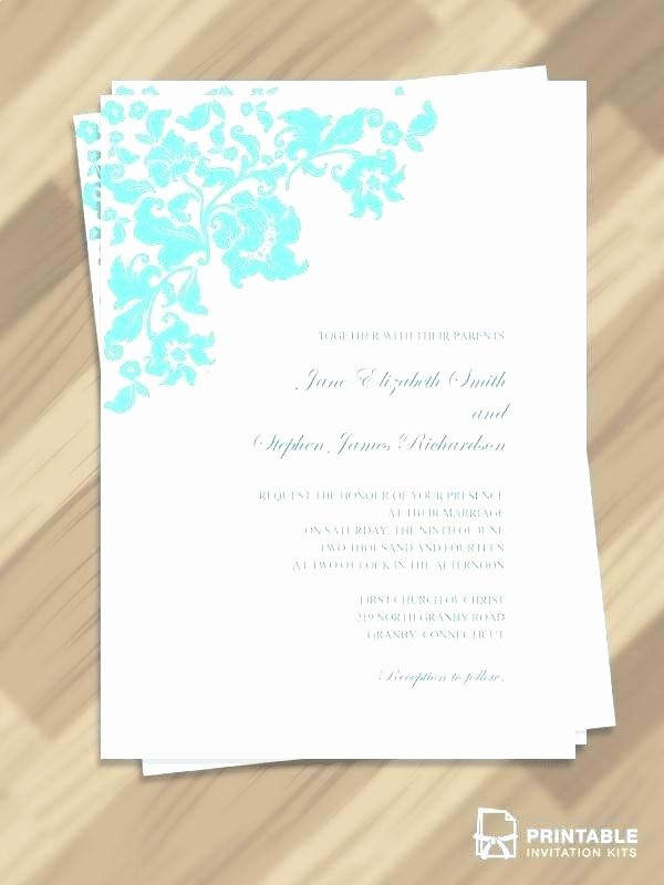 Wedding Invitation Template Photoshop Luxury Free Download Pretty Vintage Border Wedding Invitation