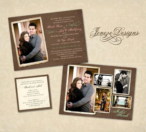 Wedding Invitation Template Photoshop New Wedding Invitation Template Graphers and Shop