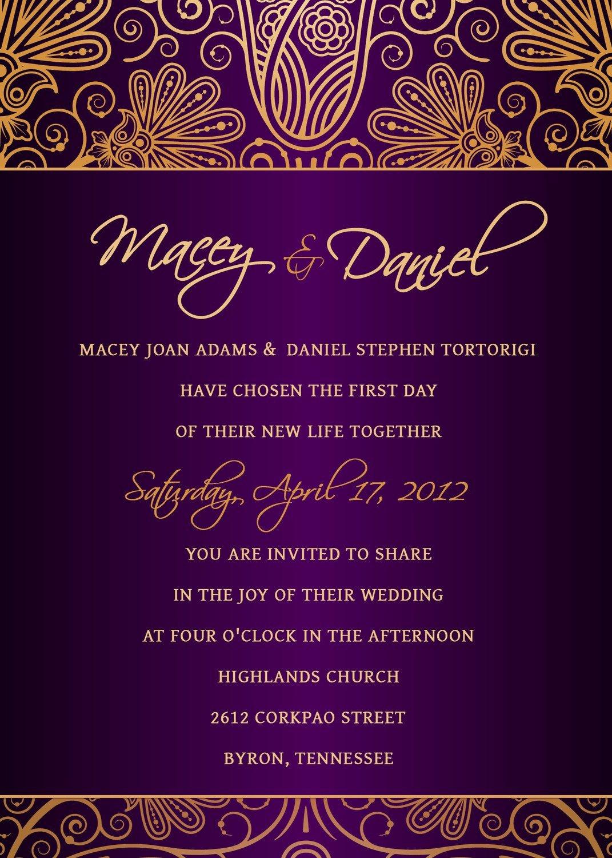 Wedding Invitation Template Psd Fresh Invitation Template In Shop