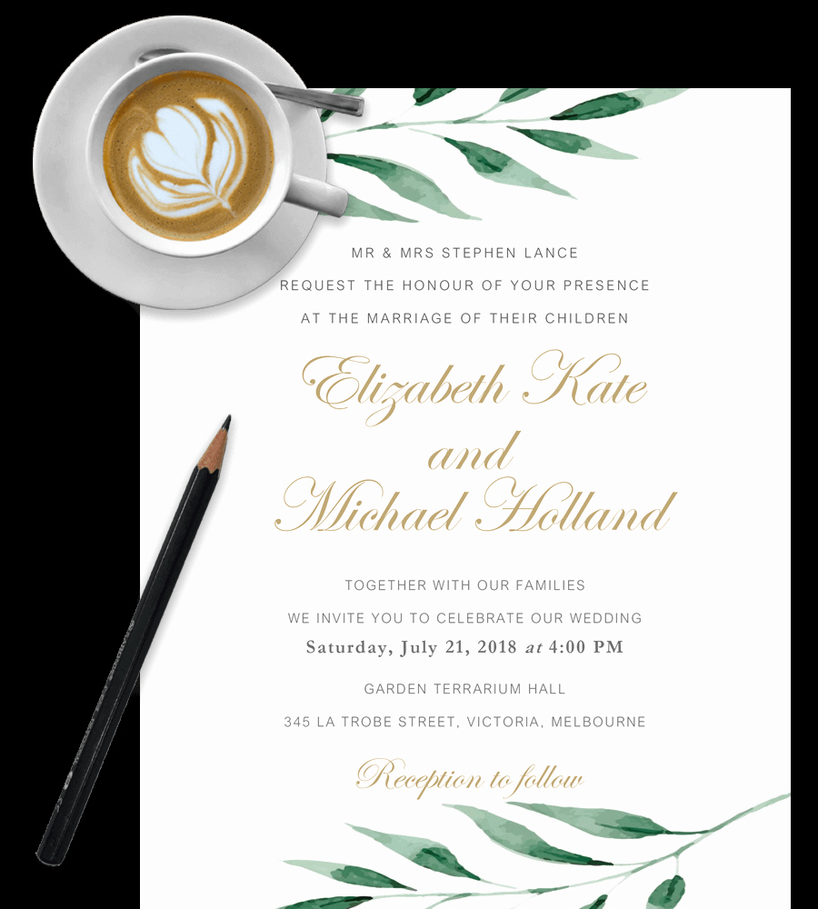 Wedding Invitation Template Word Awesome Free Wedding Invitation Templates In Word [download