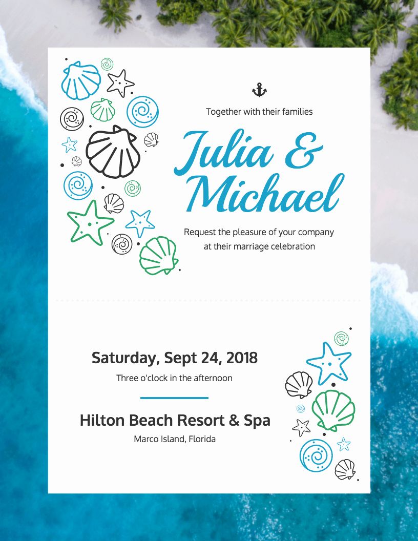 do it yourself wedding invitation templates