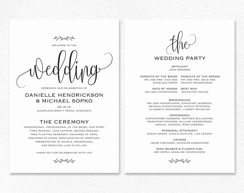 Wedding Invitation Template Word Lovely Wedding Card Template Word Templates Data