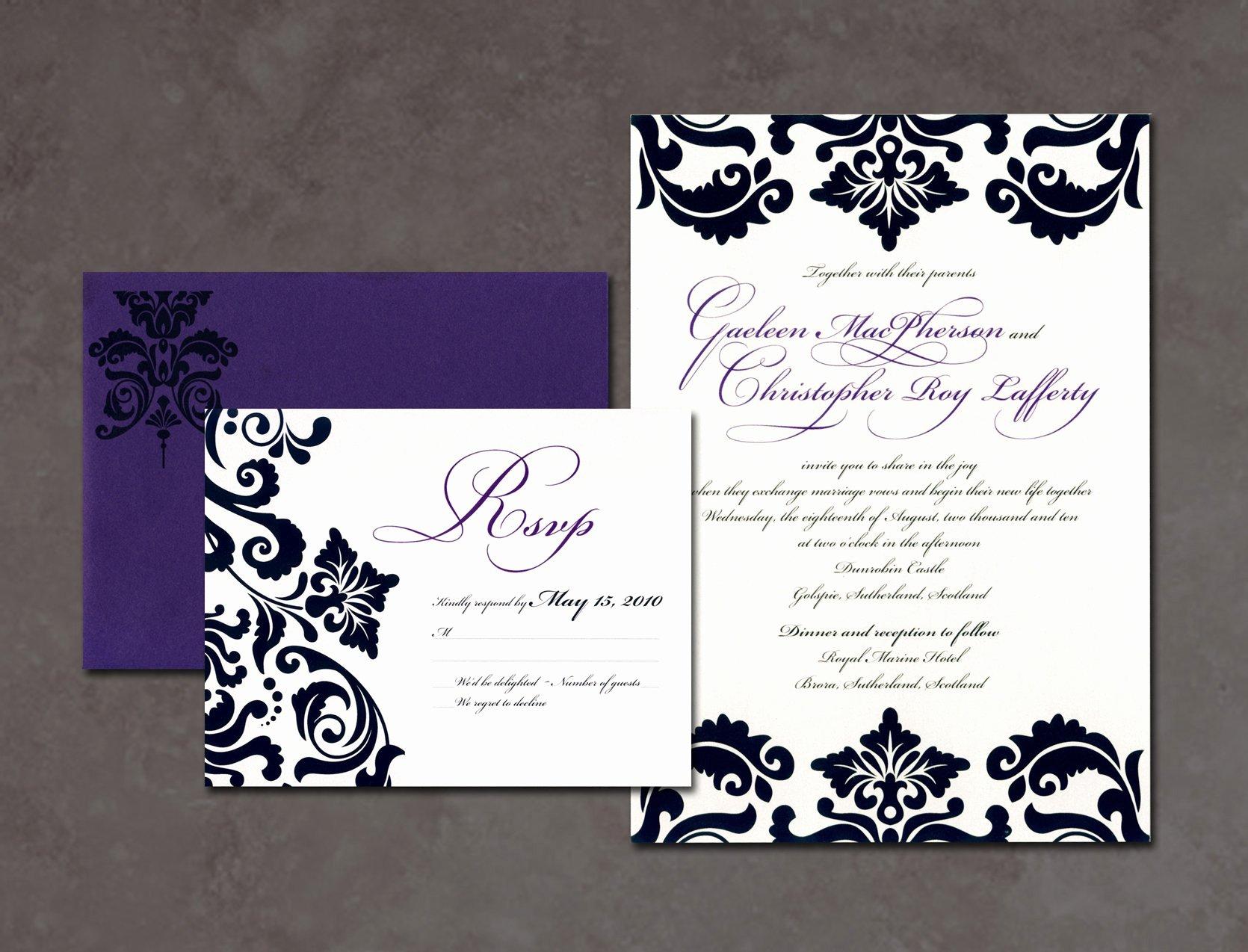 Wedding Invitations Photoshop Template Elegant Wedding Invitation Free Wedding Invitation Templates