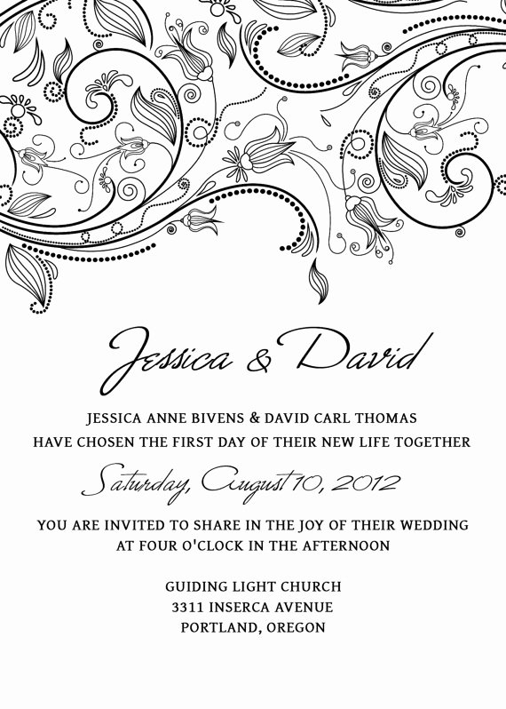Wedding Invitations Photoshop Template Fresh Invitation Templates Editable Free