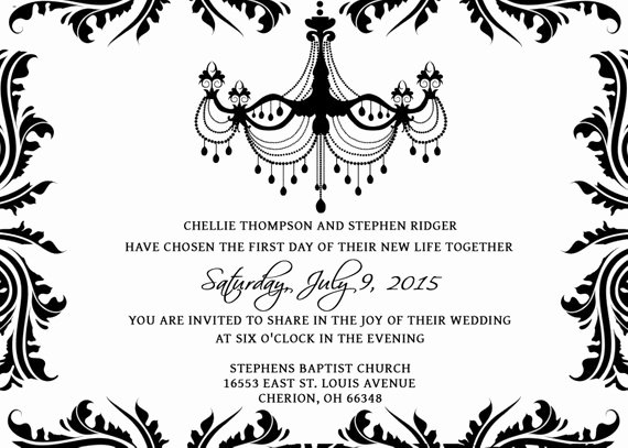 Wedding Invitations Photoshop Template Unique Wedding Invitations Template Set Psd Shop Gimp