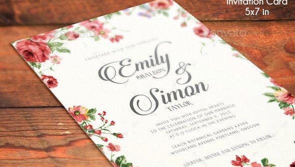 Wedding Invite Photoshop Template Beautiful 21 Elegant Psd Wedding Invitation Templates