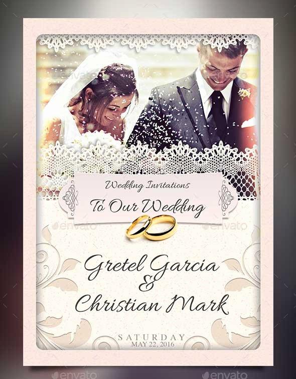 Wedding Invite Photoshop Template Inspirational 72 Best Wedding Invitation Templates Psd Shop Indesign