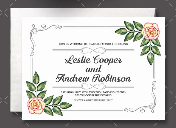 Wedding Invite Photoshop Template Inspirational 75 Free Must Have Wedding Templates for Designers
