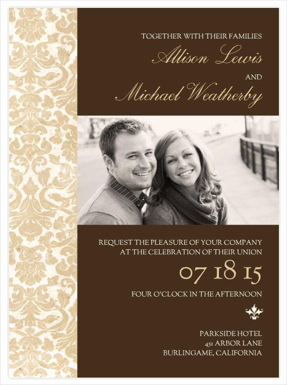 Wedding Invite Photoshop Template Inspirational Wedding Invitations Shop Templates Yourweek
