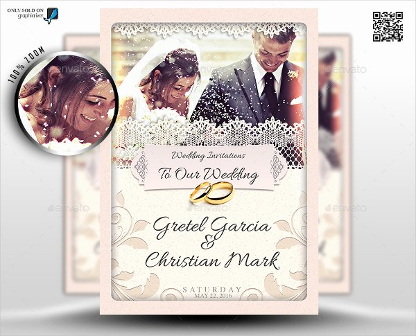 Wedding Invite Photoshop Template Lovely Wedding Invitations Photoshop Templates 41 Wedding