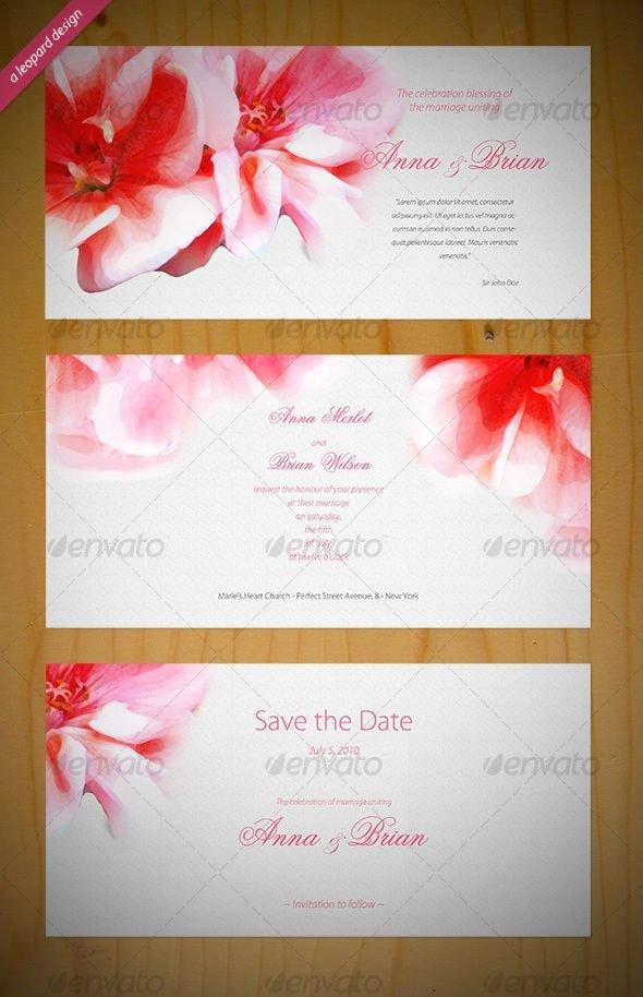 Wedding Invite Photoshop Template Unique Psd Invitation Templates Invitation Template