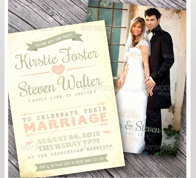 Wedding Invite Template Photoshop Best Of 45 Beautiful Wedding Invitation Psd Templates – Shop