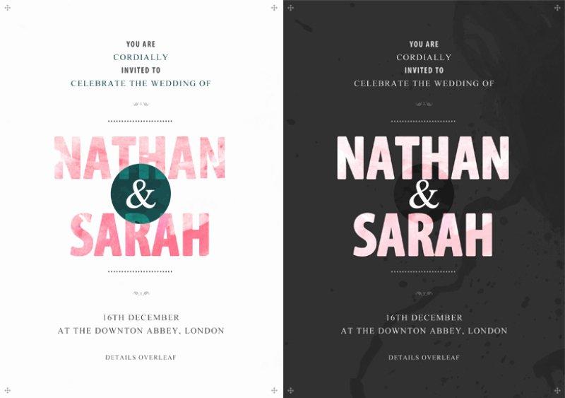 Wedding Invite Template Photoshop Inspirational Invitation Templates Shop – orderecigsjuicefo