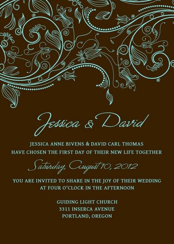 Wedding Invite Template Photoshop Inspirational Items Similar to Wedding Invitation Set Of Templates Psd