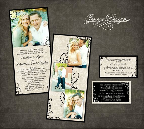 Wedding Invite Template Photoshop Inspirational Wedding Invitation Template Graphers and Shop
