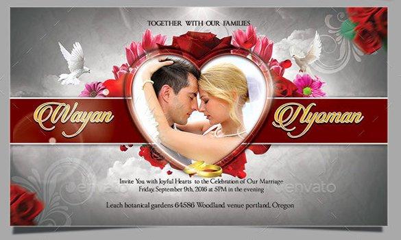 Wedding Invite Template Photoshop Luxury 59 Invitation Templates Psd Ai Word Indesign