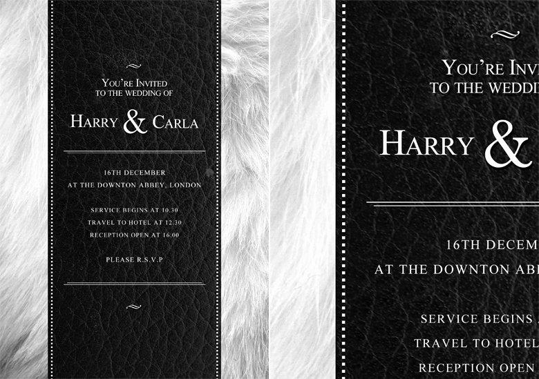 Wedding Invite Template Photoshop Luxury Psd Wedding Invitation Template by Quickandeasy1 On Deviantart