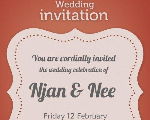 Wedding Invite Template Photoshop Unique Download 8 Free Wedding Invitations Template In Psd Xdesigns