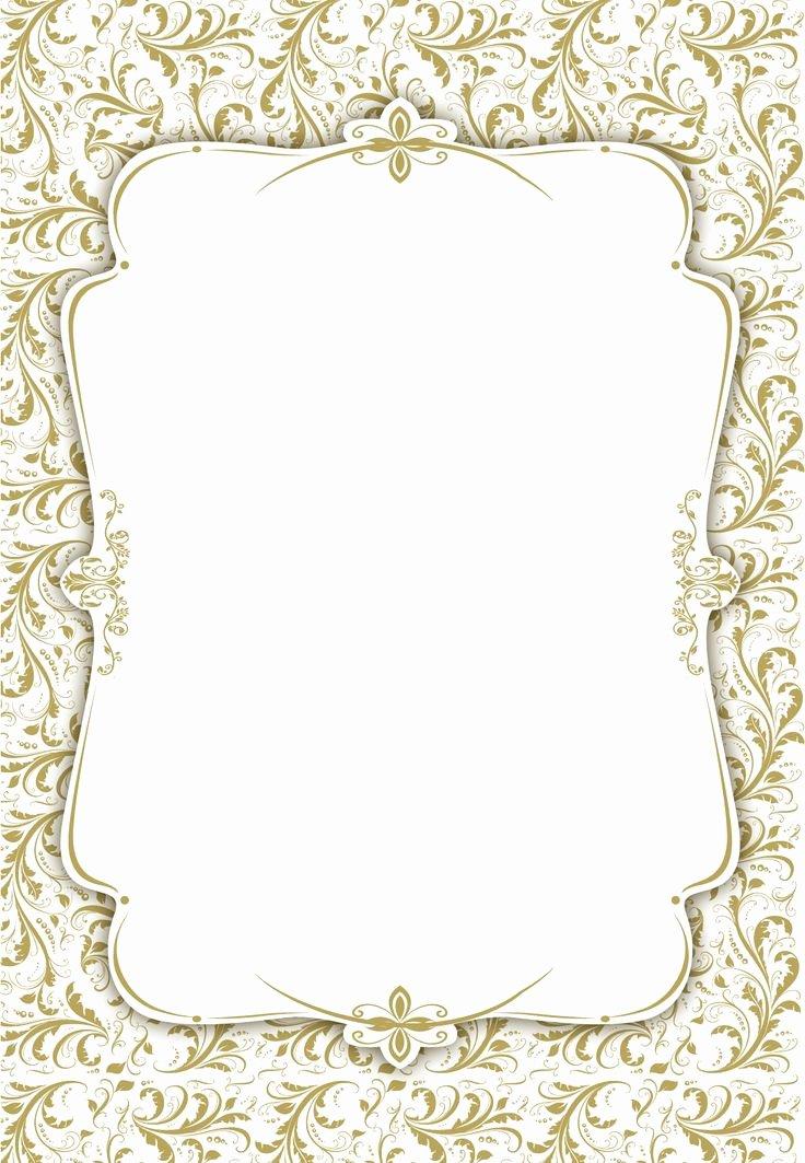 Wedding Invite Template Word Best Of Tasteful Tapestry Frame Free Printable Wedding