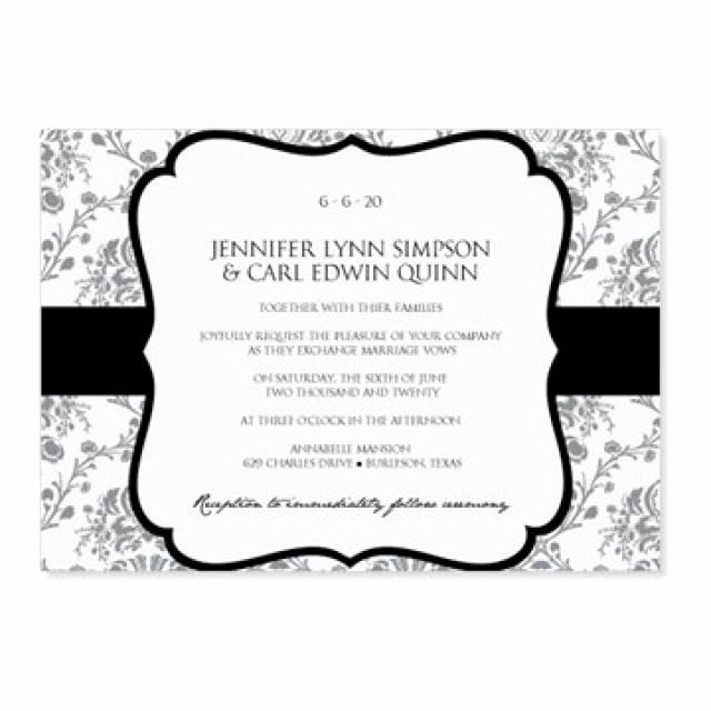 Wedding Invite Template Word Inspirational Instant Download Wedding Invitation Template Victorian