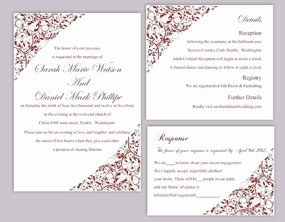 Wedding Invite Template Word Luxury Wine Dinner Invitation Template – Btcromaniafo