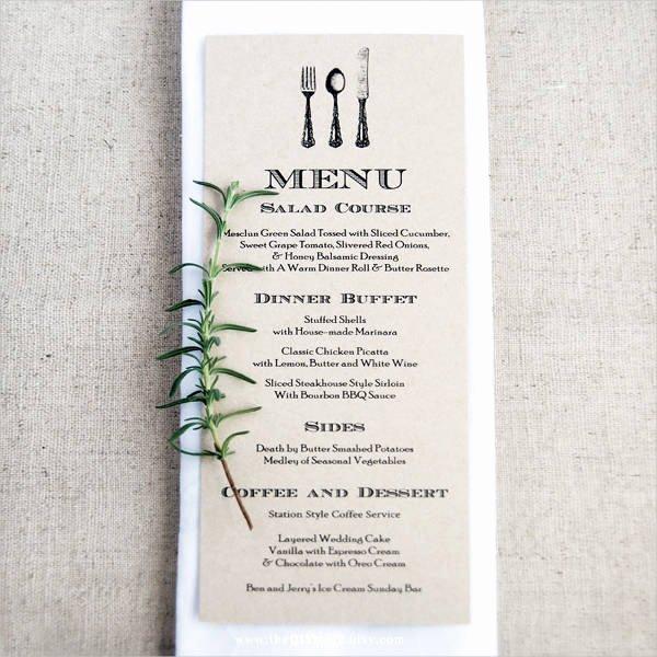 Wedding Menu Cards Template Beautiful 10 Wedding Menu Cards Psd Eps Vector