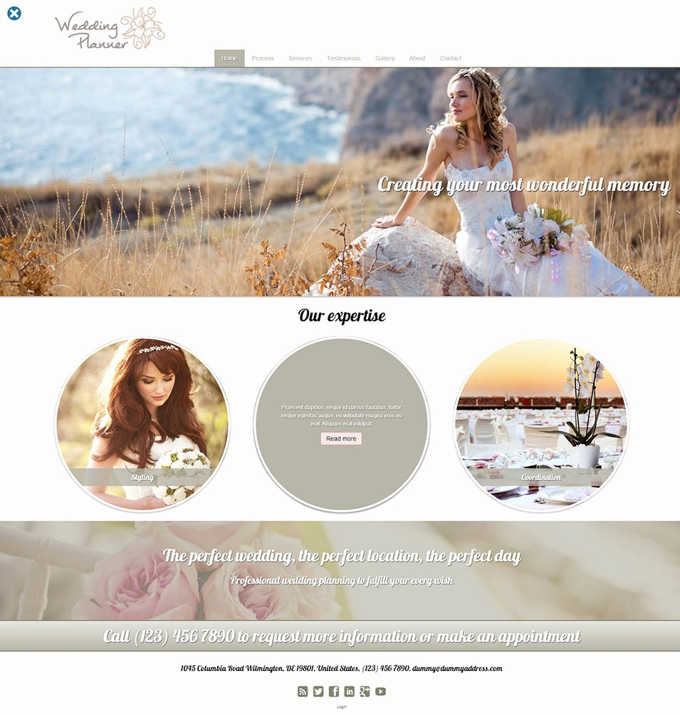 Wedding Planner Website Template Awesome 15 Best Wedding event Planner Website Templates