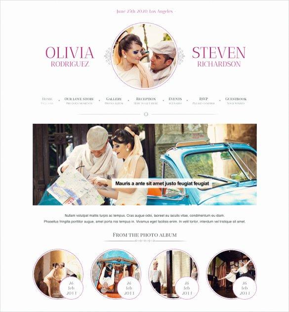 Wedding Planner Website Template Best Of 27 Google Website themes & Templates