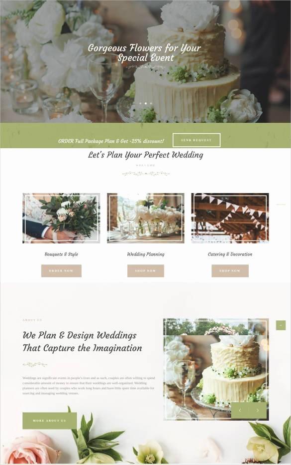Wedding Planner Website Template Best Of 33 event Planning Website themes & Templates