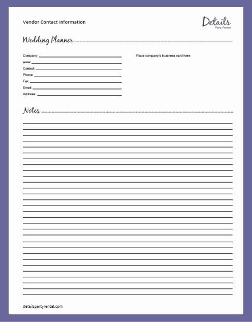Wedding Planner Website Template Best Of Details Party Rental – Planning Templates