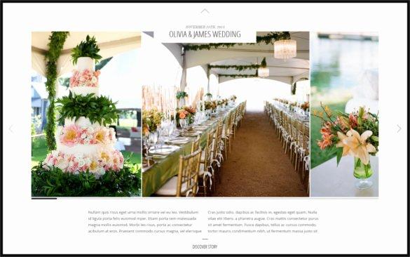 Wedding Planner Website Template Lovely 40 Psd Wedding Templates Free Psd format Download