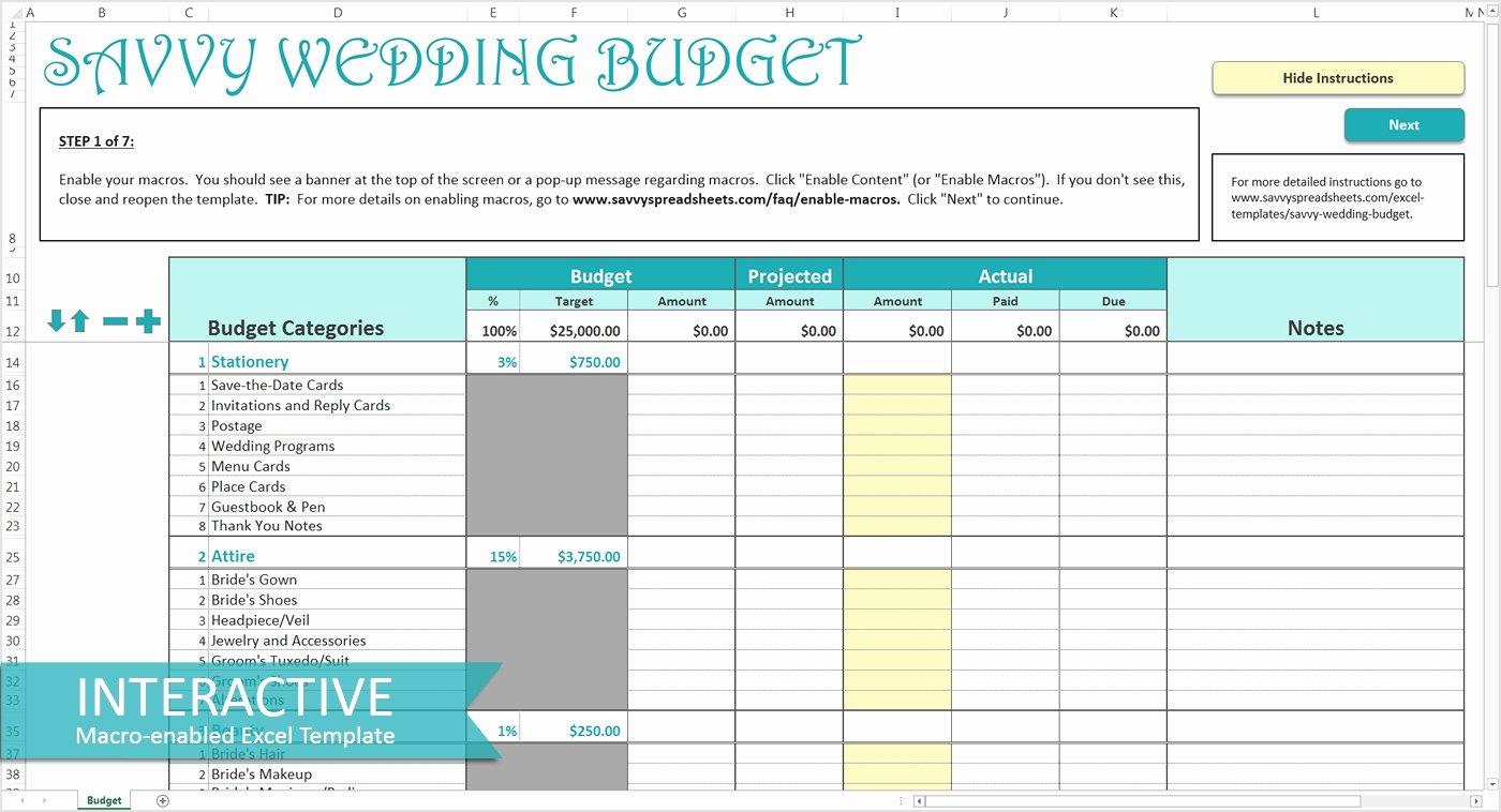 Wedding Planning Budget Template Lovely Wedding Bud Template