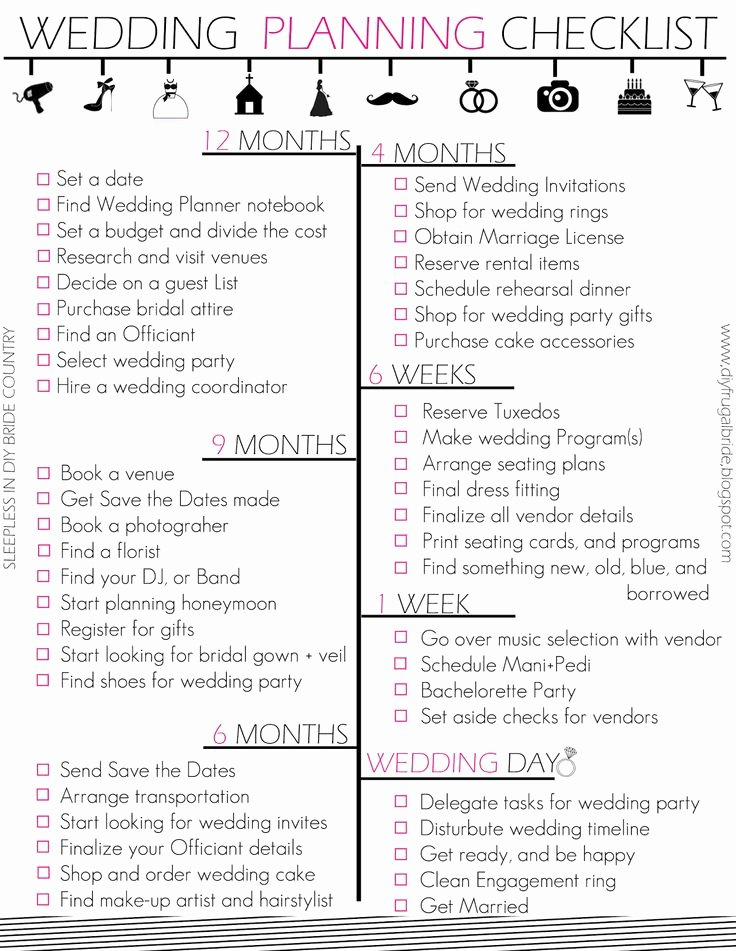 Wedding Planning Template Free Elegant 7 Best Of Wedding Director Checklist Printable